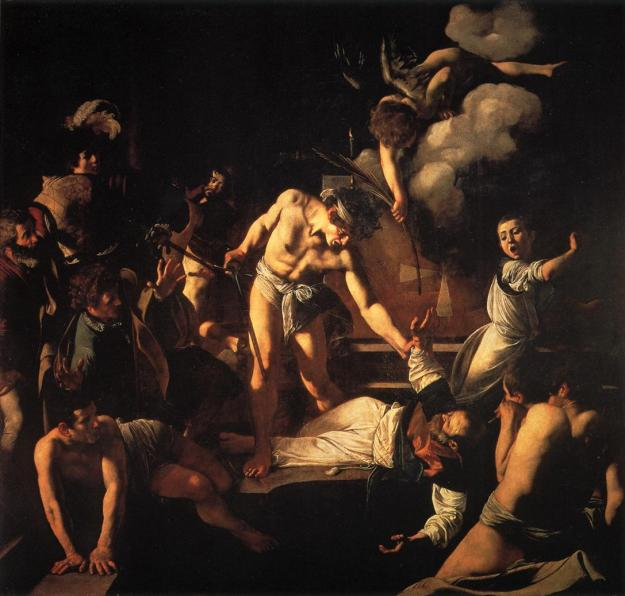 The Martyrdom of St. Matthew Michaelangeo Merisi da Caravaggio