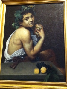 The sick Bacchus -Michaelangelo Merisi da Caravaggio  (Author's photo)