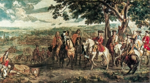 Battle of Blenheim, one of the decisive victories of the War of Spanish Succession