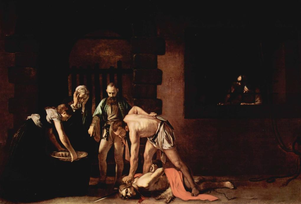 The Beheading of John the Baptist - Michaelangelo Merisi da Caravaggio