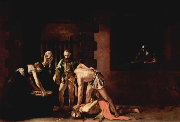 The Beheading of John the Baptist - Michaelangelo Merisi da Caravaggio