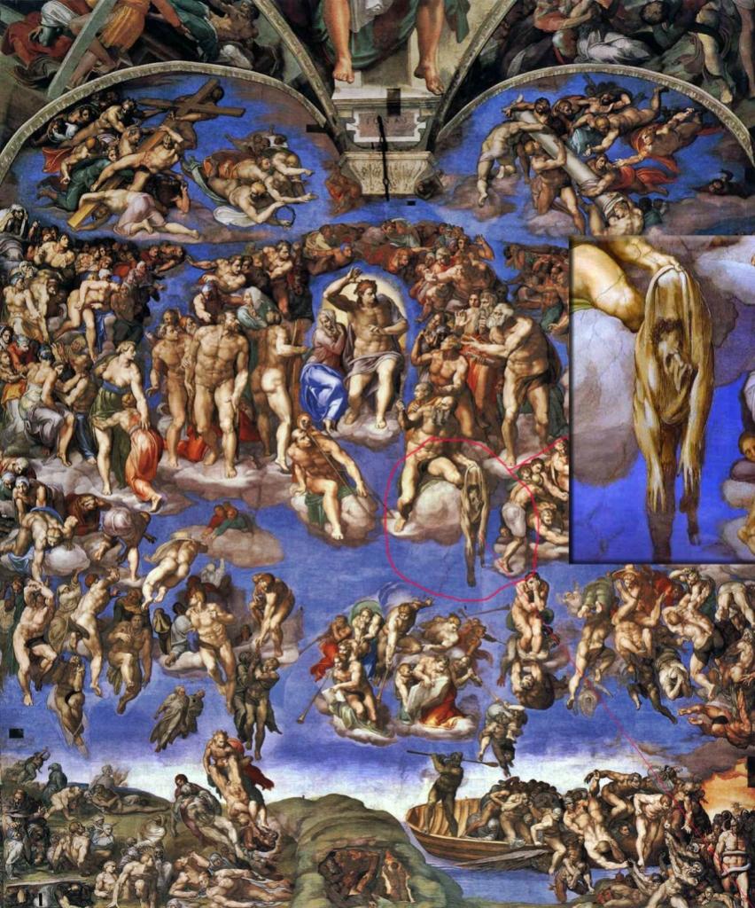 Michelangelo_last_judgment_detail