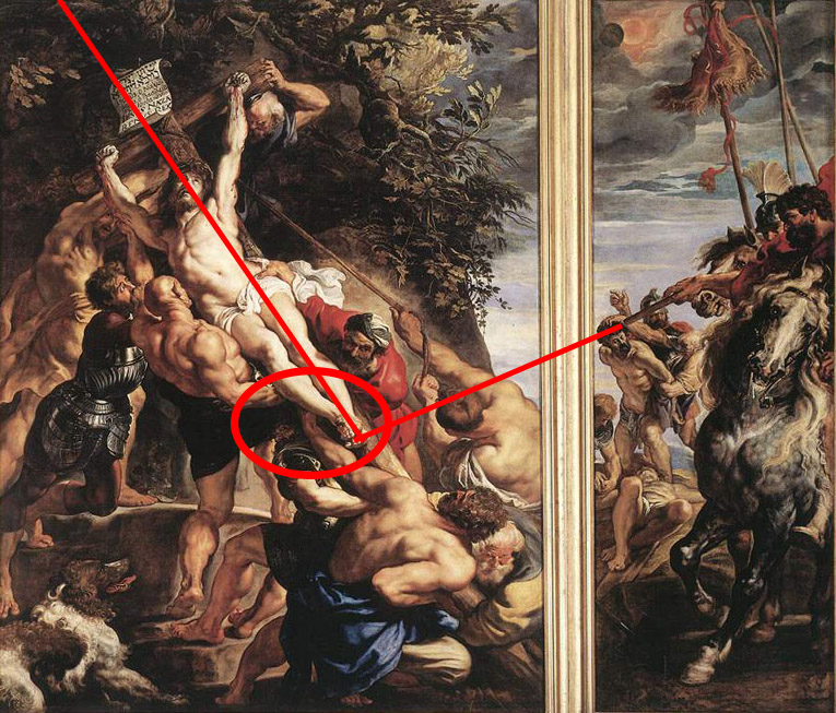 the raising of the cross petar paul rubens The elevation of the cross (central part of the triptych) 1610-1611 oil on panel cathedral, antwerp, belgium read note additional links peter paul rubens.