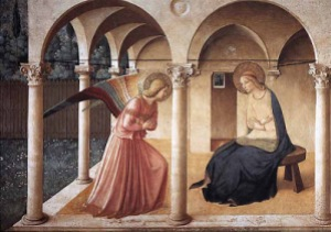 The Annunciation -Fra Angelico