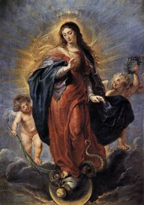 The Immaculate Conception -Peter Paul Rubens
