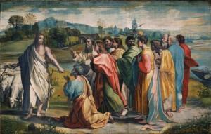 Consegna Della Chiavi -Raphael