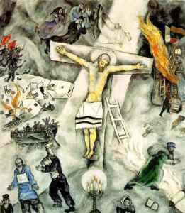 white-crucifixion-chagall_blasphemy