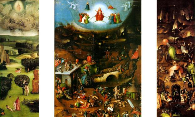 The Last Judgment -Hieronymus Bosch